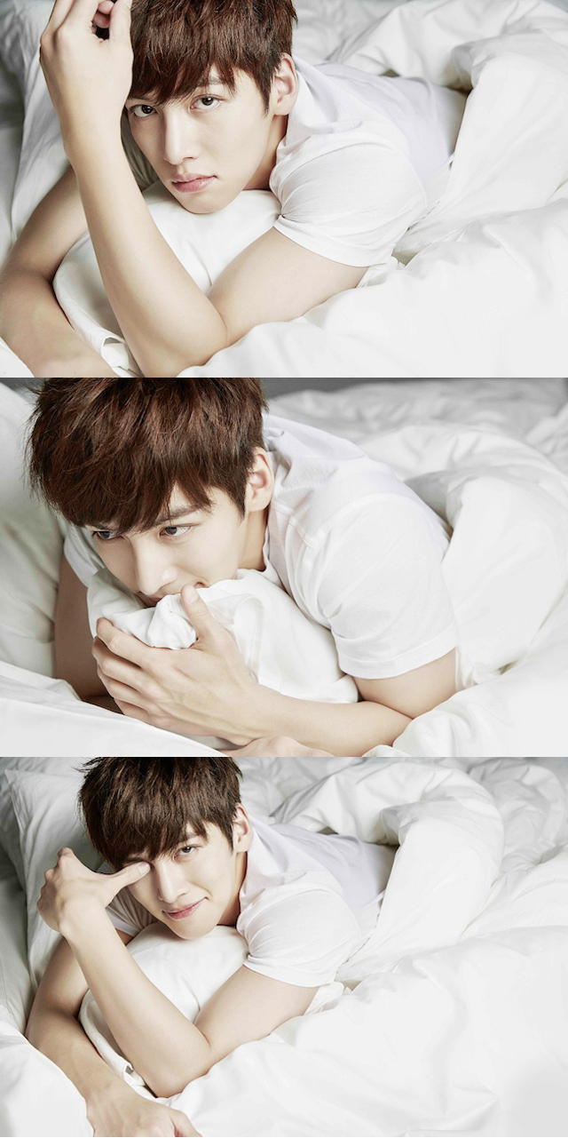 Habits That Will Help You Sleep Better, Habits for Better Sleep, How To Fall Asleep Faster, Ji Chang Wook in bed, Ji Chang Wook Femina