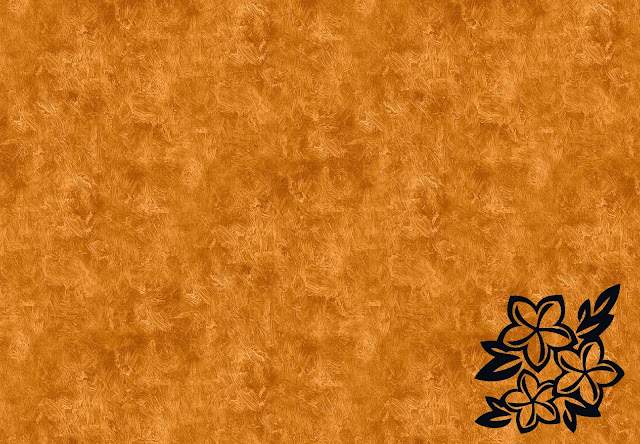 Blank Orange Background Wallpaper