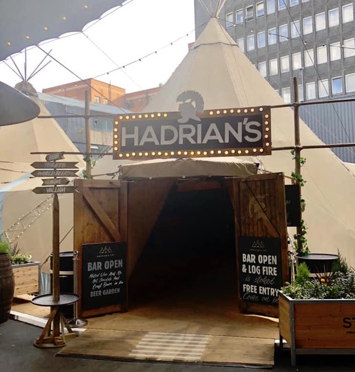 Mrs Mulled Wine Christmas Countdown - 9 weeks to go  | Hadrian's Tipi Newcastle