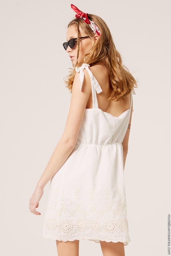 Moda 2019 │ Vestidos primavera verano 2019 │Materia colección primavera verano 2019. Vestidos de moda 2019.
