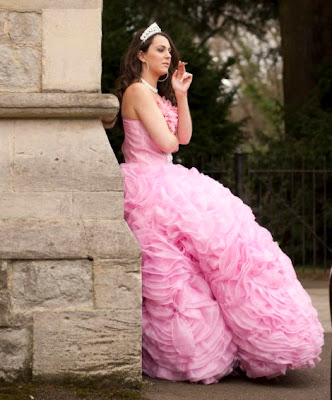 Gypsy Big Pink Wedding Dress Design By Princess Kate