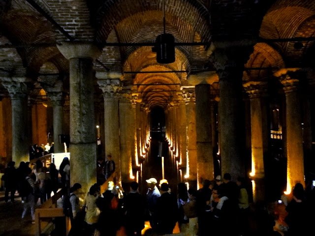 The Sunken Palace in Istanbul: Basilica Cistern