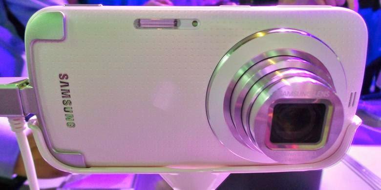 Kamers Samsung Galxy K Zoom