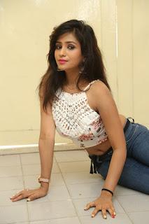Deekshita Parvathi in a short crop top and Denim Jeans Spicy Pics Beautiful Actress Deekshita Parvathi January 2017 CelebxNext (172).JPG