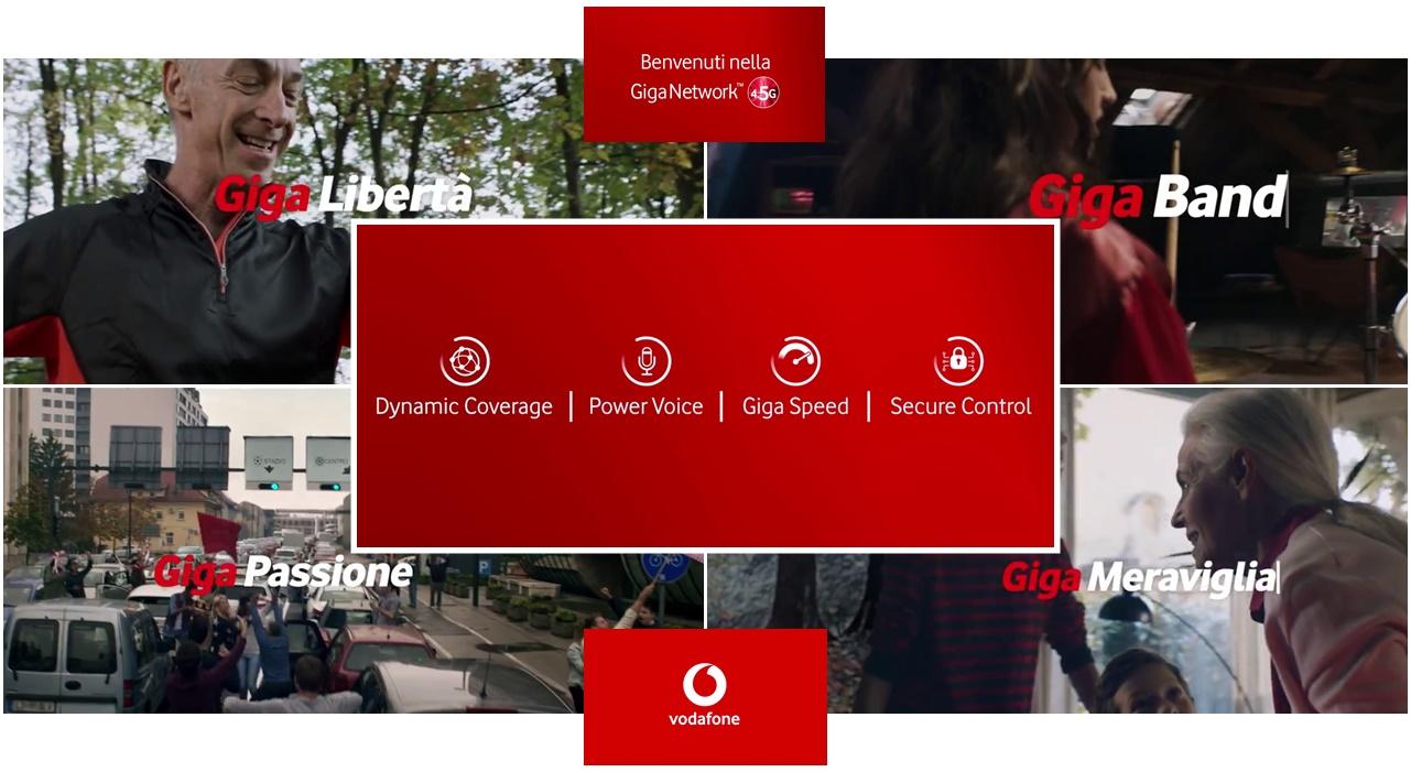 Pubblicità Vodafone Giga Network 45g Con Linus Musica Dello Spot