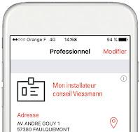 viessmann vicare app depannage