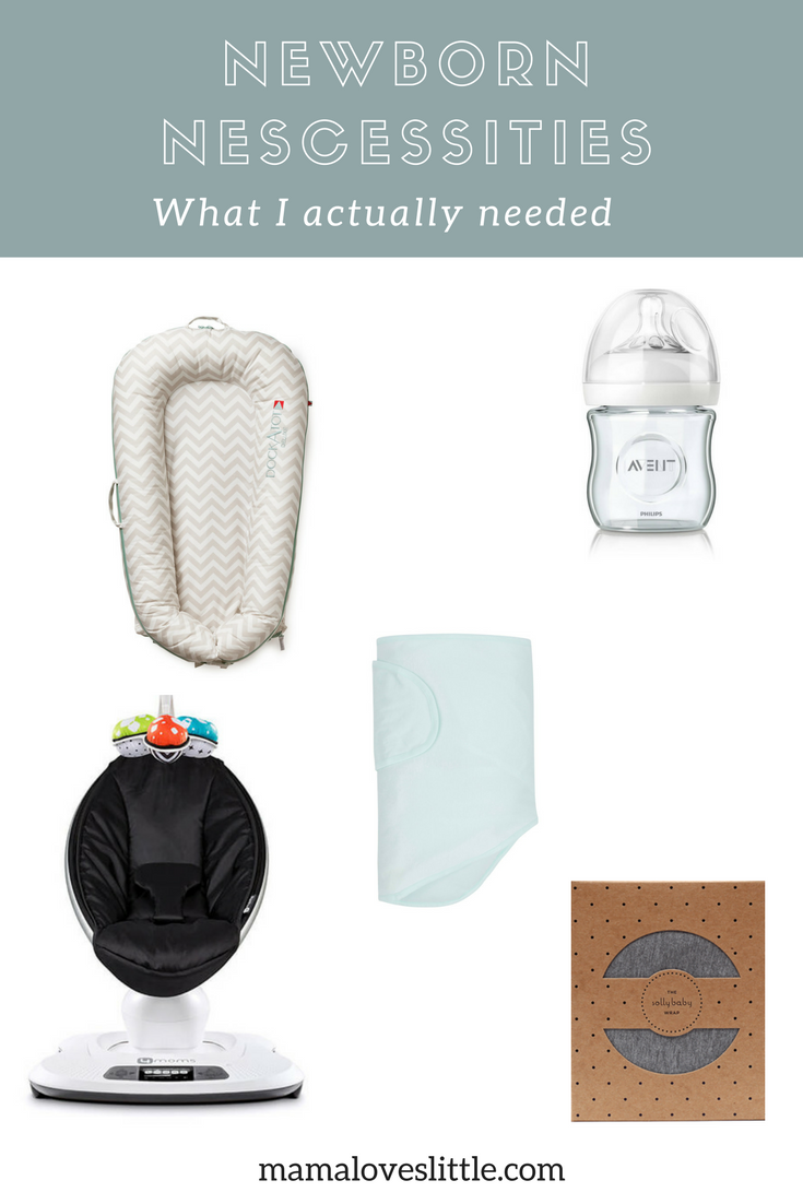 1f788137754 Newborn Necessities (what I actually needed) - Mama Loves Little