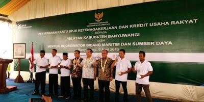 Nelayan Muncar dilindungi BPJS Ketenagakerjaan.