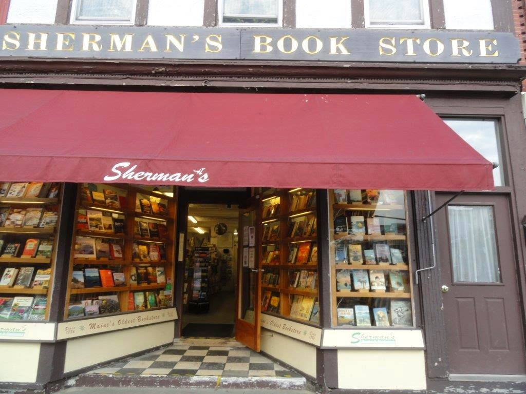Another view of Sherman's Book Store