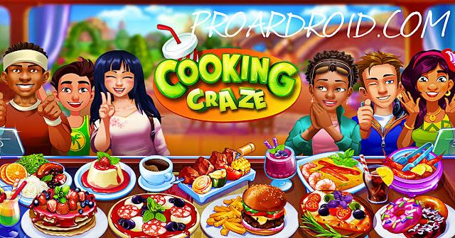 لعبة الطبخ Cooking Craze v1.26.0 مهكرة كاملة للاندرويد (اخر اصدار) logo