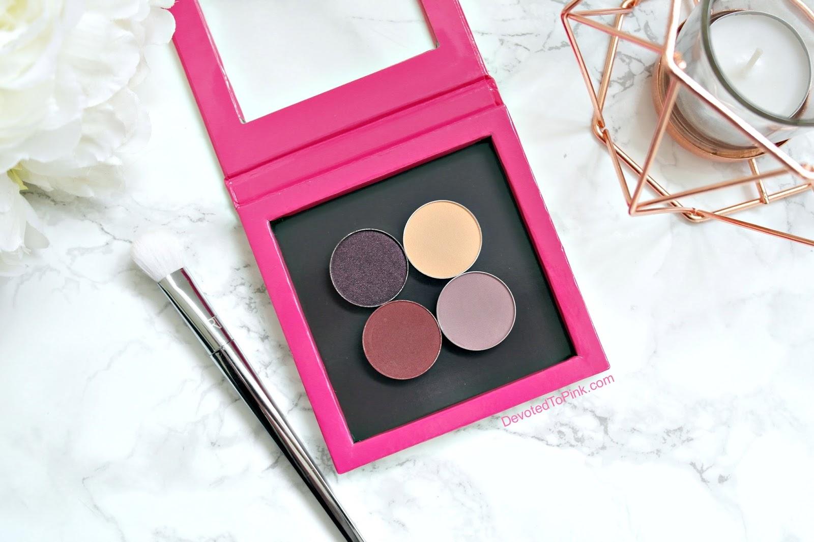 Makeup Geek Eyeshadow Review - Bitten, Peach Smoothie, Drama Queen ...