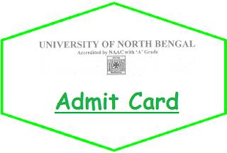 NBU Siliguri Admit Card 2020