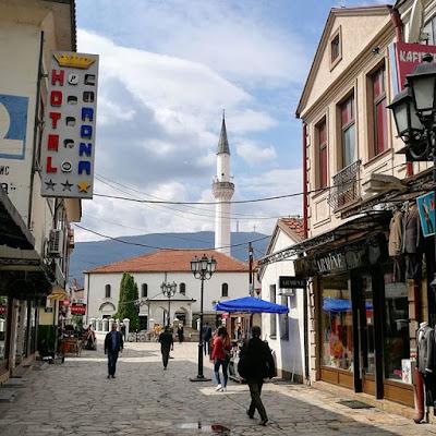 El Viejo Bazar de Skopje