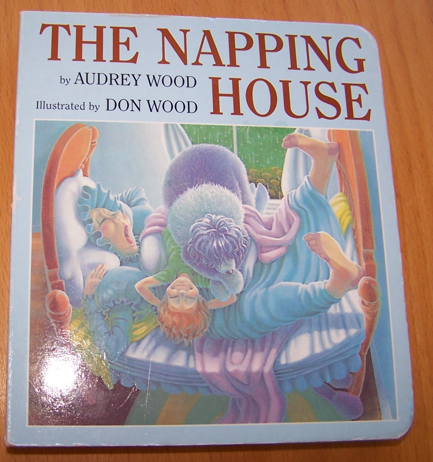 Reading With My Boys The Napping House