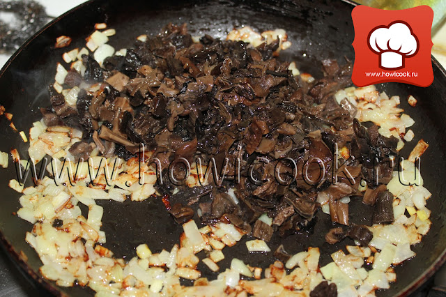 рецепт яйца, фаршированные сушеными грибами пошаговые фото