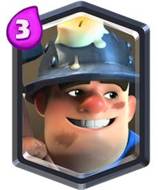 Carta Mineiro de Clash Royale - Wiki da Carta