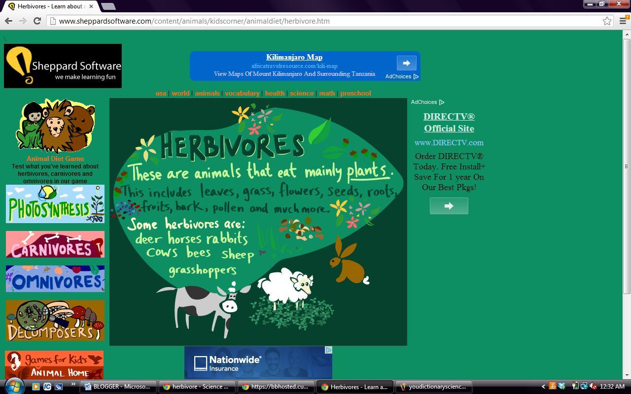 Herbivores Carnivores And Omnivores Oh My