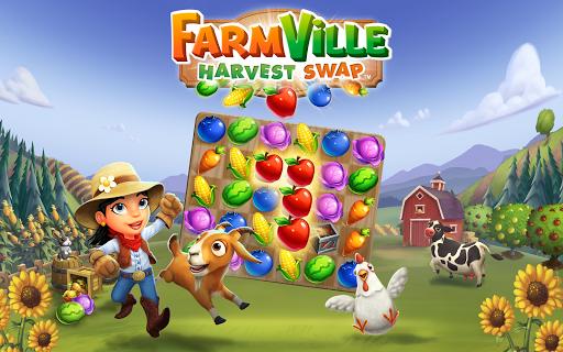 تحميل لعبة FarmVille: Harvest Swap v1.0.3490 مهكرة وكاملة للاندرويد