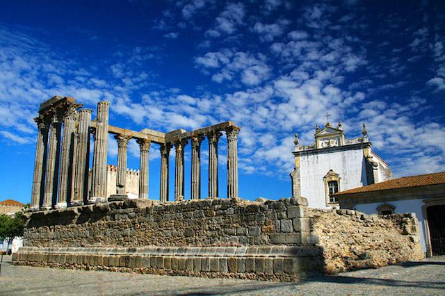 Templo de Diana em Évora