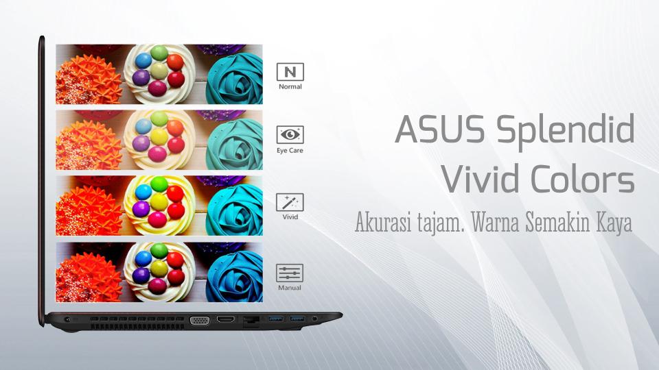 ASUS Splendid Technology - Vivid Colors