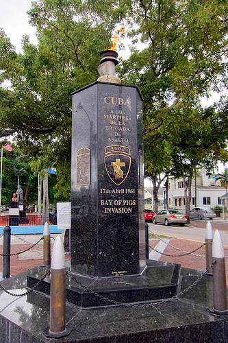 Bay of Pigs Monument Little Havana Tours
