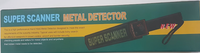 METAL DETECTOR SUPER SCANNER (SECURITY)