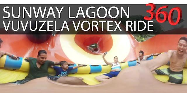 Experience Sunway Lagoon Vuvuzela Vortex Ride in 360! #Gear360