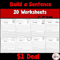 Build a Sentence Dollar Deal