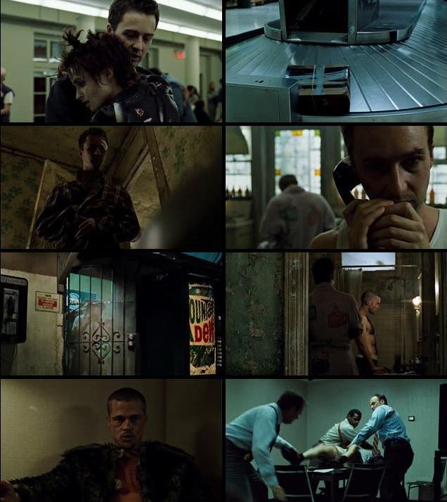 Fight Club 1999 Dual Audio Hindi 480p BluRay