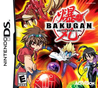 Bakugan: Battle Brawlers NDS, Español, Mega