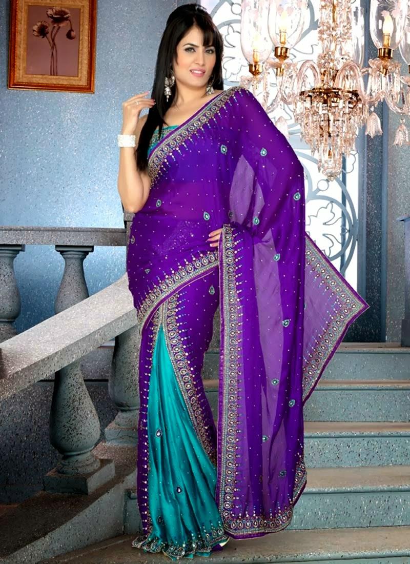 Saree World: Best 10 Beautiful Indian Saree Latest Designs 2014