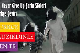 Sia Never Give Up Şarkı Sözleri (Türkçe Çeviri)