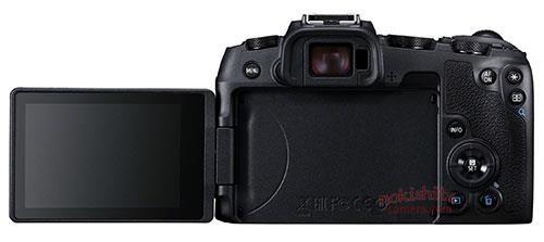 Canon EOS RP, вид сзади
