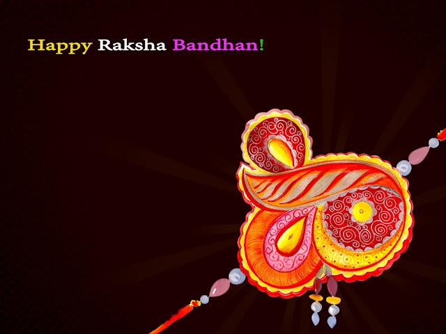 happy rakhi hd wallpaper