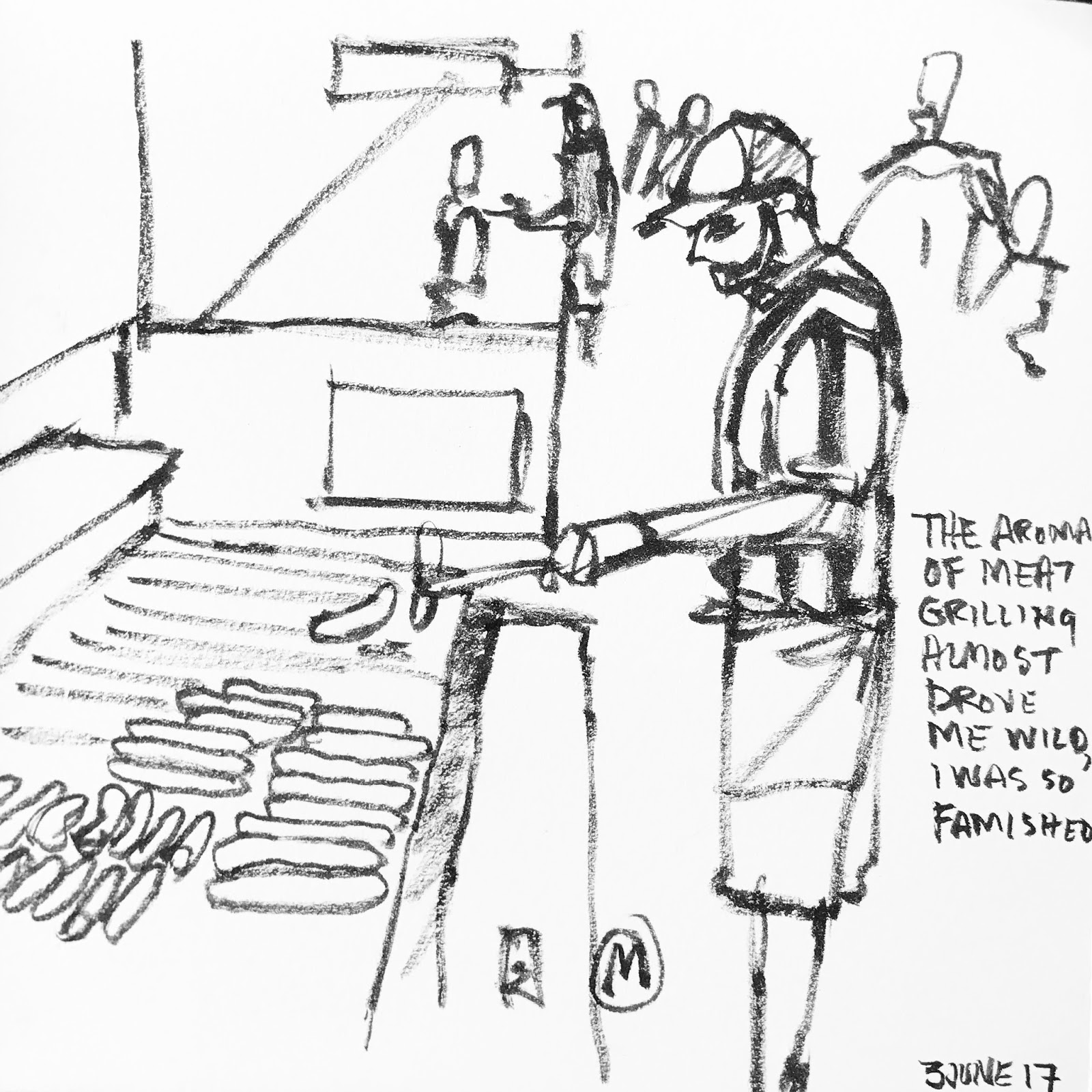10 Year Anniversary Celebration Urban Sketchers Dragon Diagrams Flickr Photo Sharing Free Image About Wiring Diagram Last Sketch Of The Day And Im Signing Off
