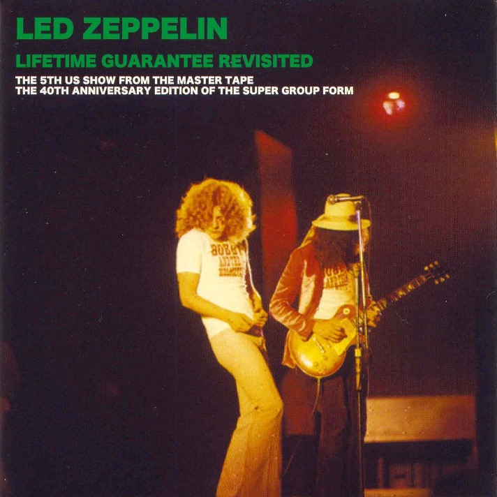 The Clock That Went Backwards Led Zeppelin 1968 12 30