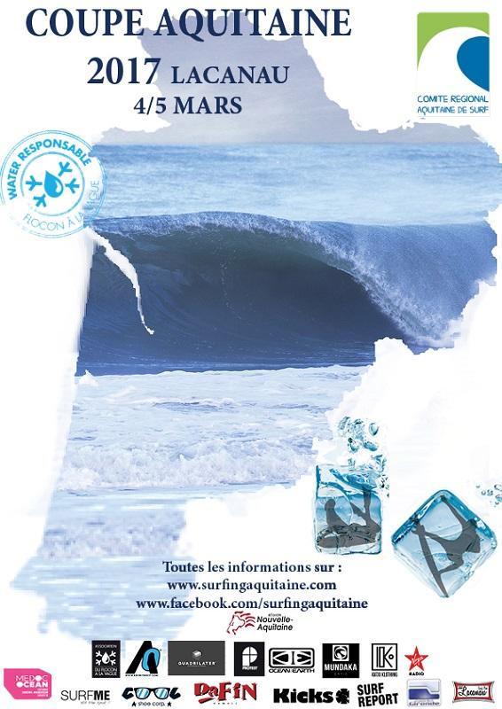 Lacanau Coupe d'aquitaine de surf 2017