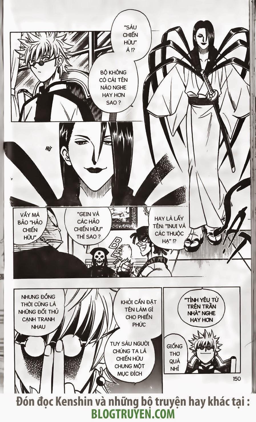 Rurouni Kenshin chap 156 trang 7