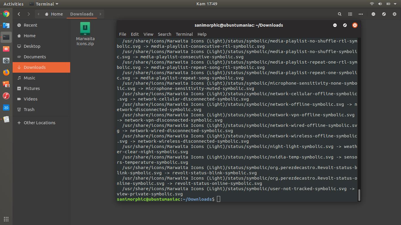 Install Marwaita Icons Theme on Ubuntu & Linux Mit