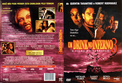Filme Um Drink no Inferno 3 - A Filha do Carrasco (From Dusk Till Dawn 3 The Hangman's Daughter) DVD Capa