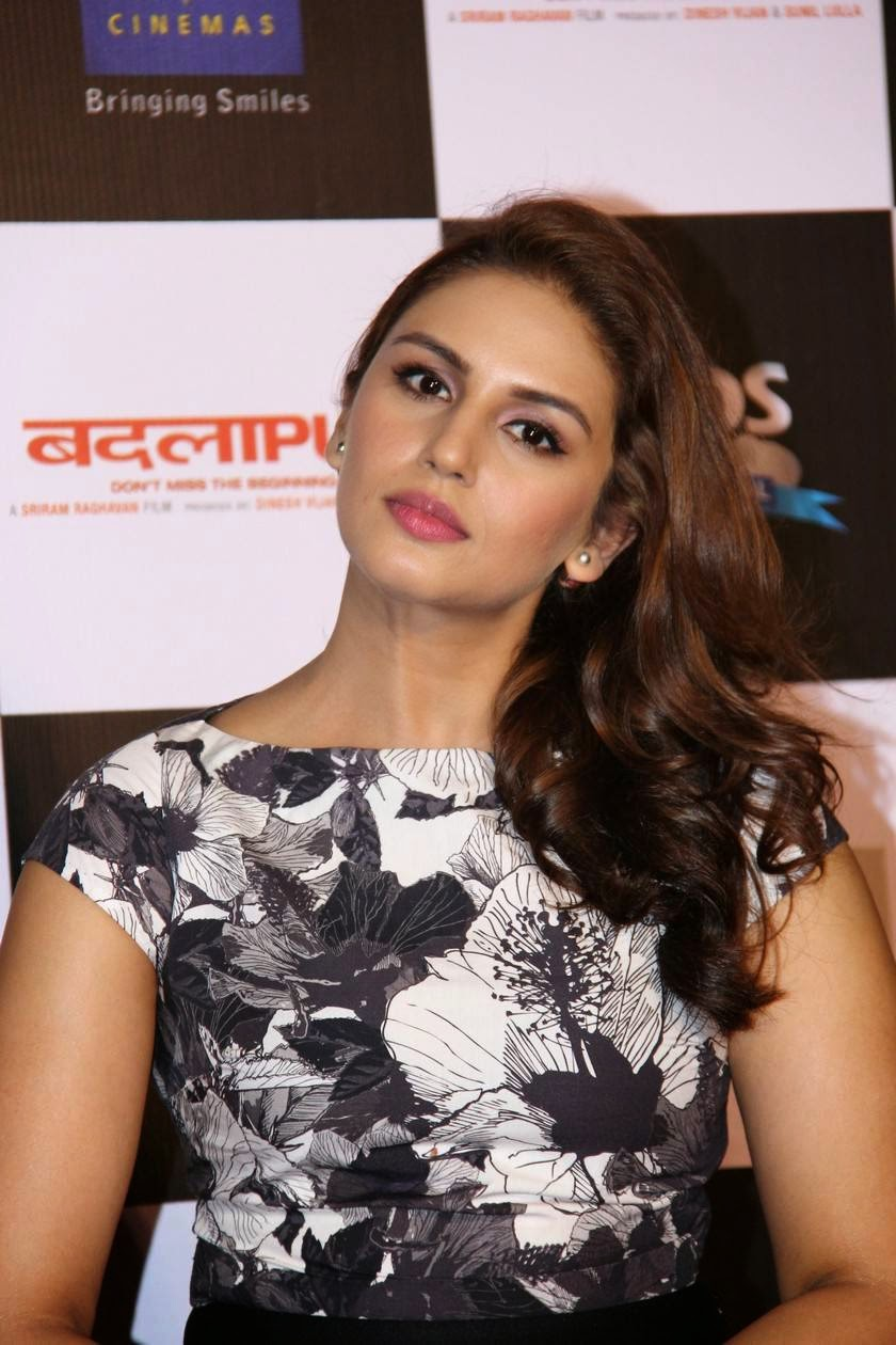 Actress Huma Qureshi Latest Cute Hot Exclusive Spicy Photos Gallery At Badlapur Movie First Look Teaser Launch
