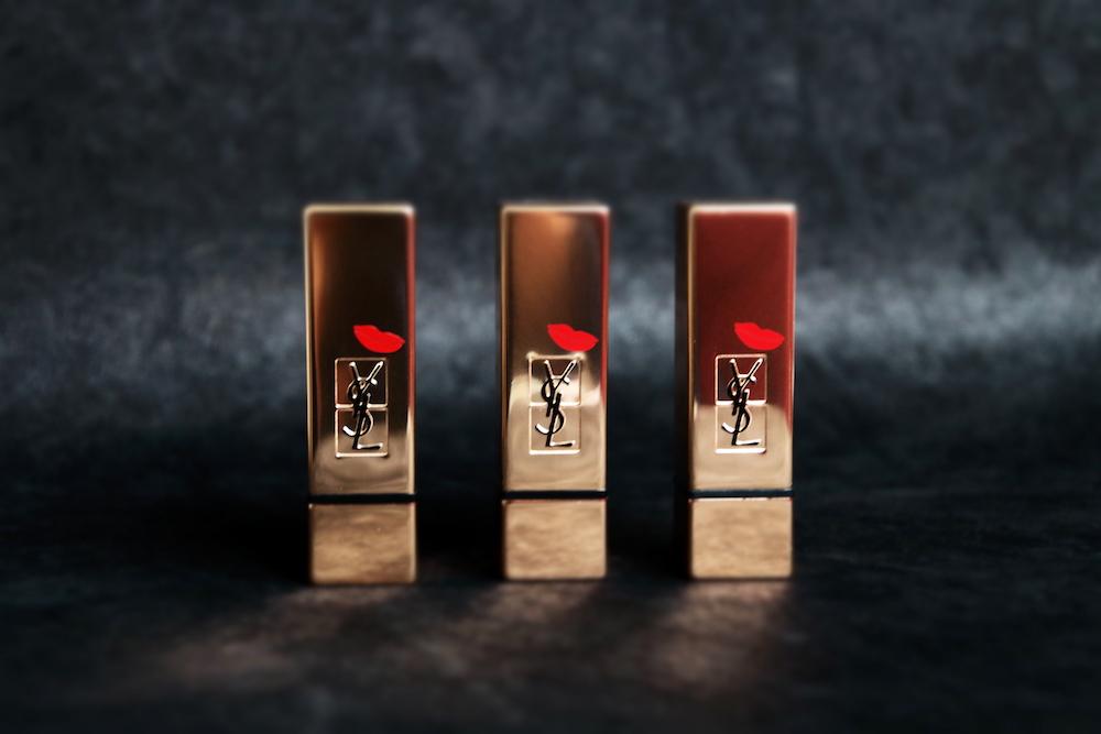 ysl yves saint laurent rouge pur couture edition kiss love noel 2015 19 fuchsia 13 orange avis test swatch