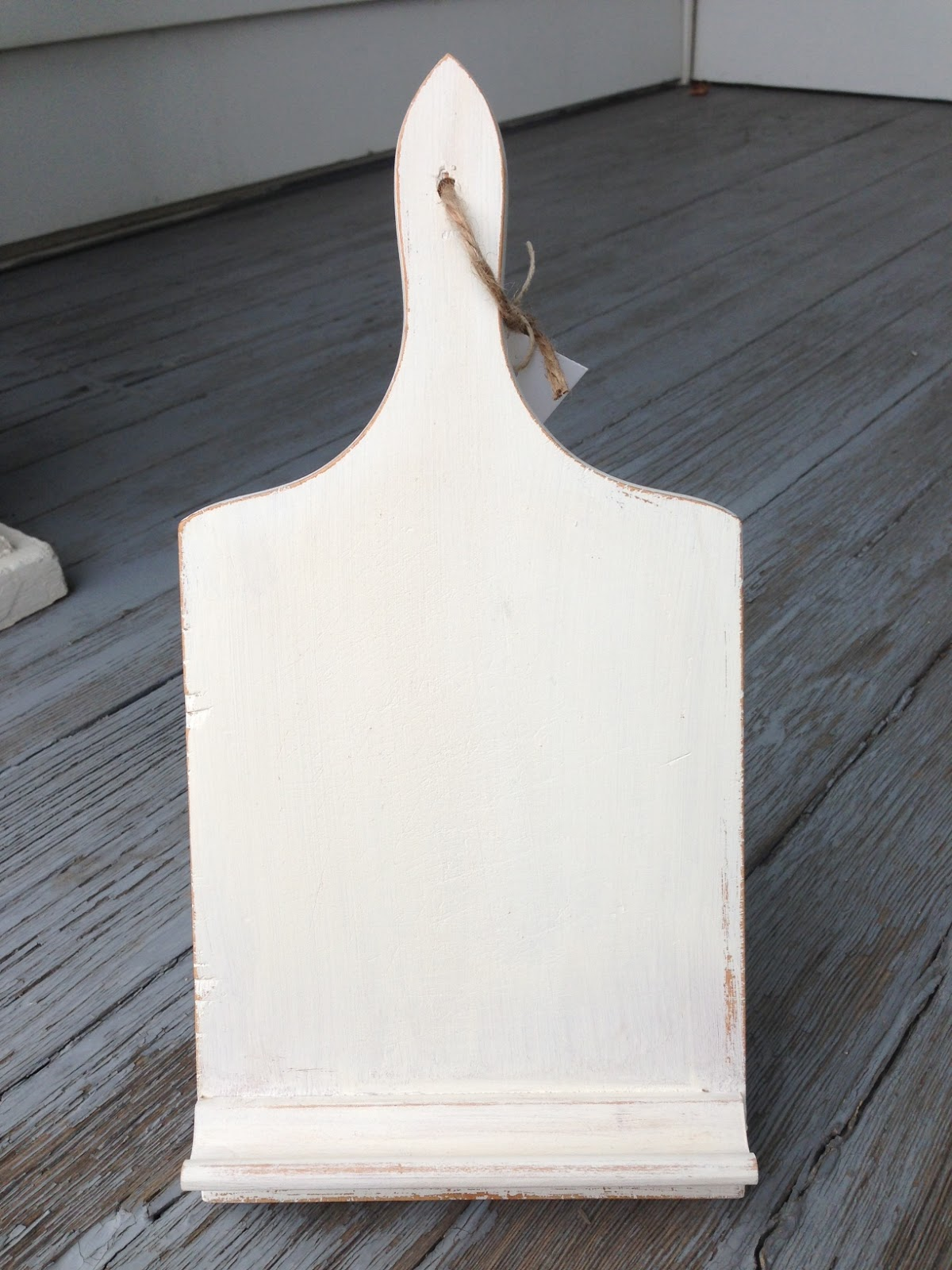 Knock Off No Sew Dining Chairs: Elizabeth & Co.: Susan's PB Knock-off Tablet Holder