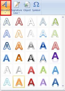 Excel WordArt