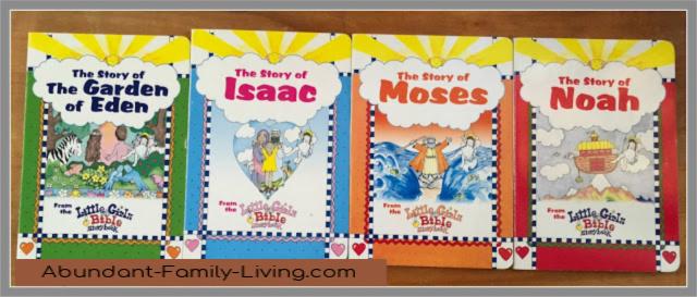 Little Girls Bible Boardbooks