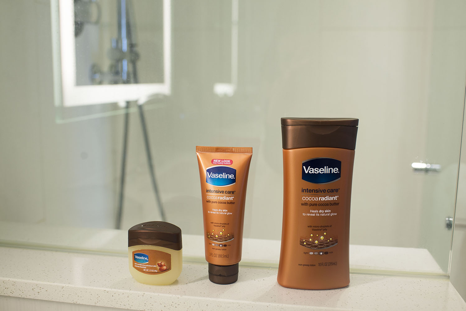 vaseline intensive care products