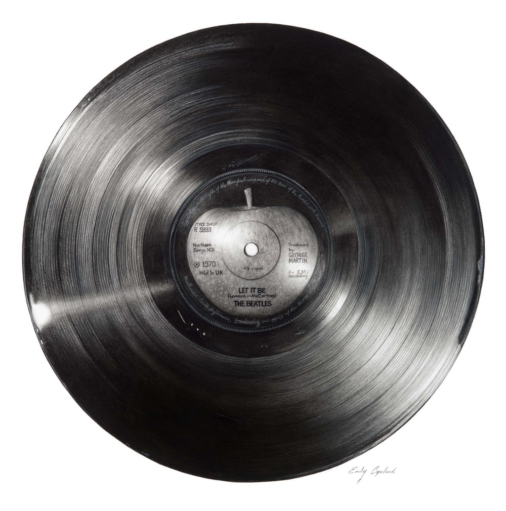 09-Lp-Record-Emily-Copeland-Vintage-and-Retro-Objects-in-Photo-Realistic-Drawings-www-designstack-co