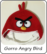 Gorro Angry Rojo
