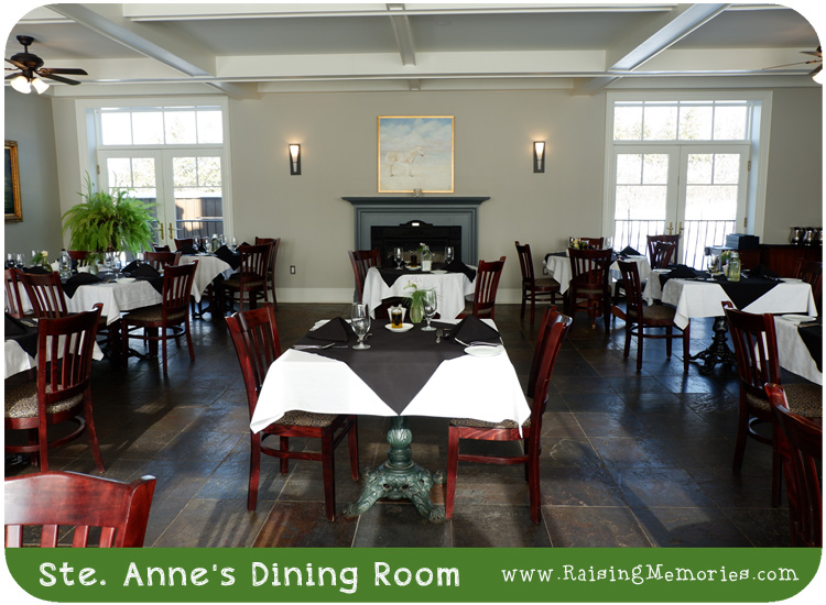 Renovated dining room at Sainte Annes Spa