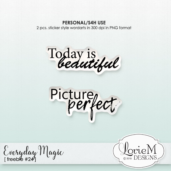 Everyday Magic Collection, $1.50 Each, 6 Packs, 10 Packs + Freebie